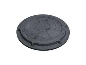 Люк полимерный черный 730/60 (1.5 тн)