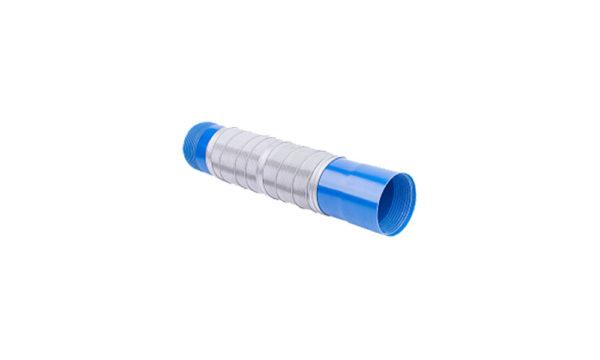 Фильтр скважинный ПВХ 120*4.5 сетка нерж. белый
